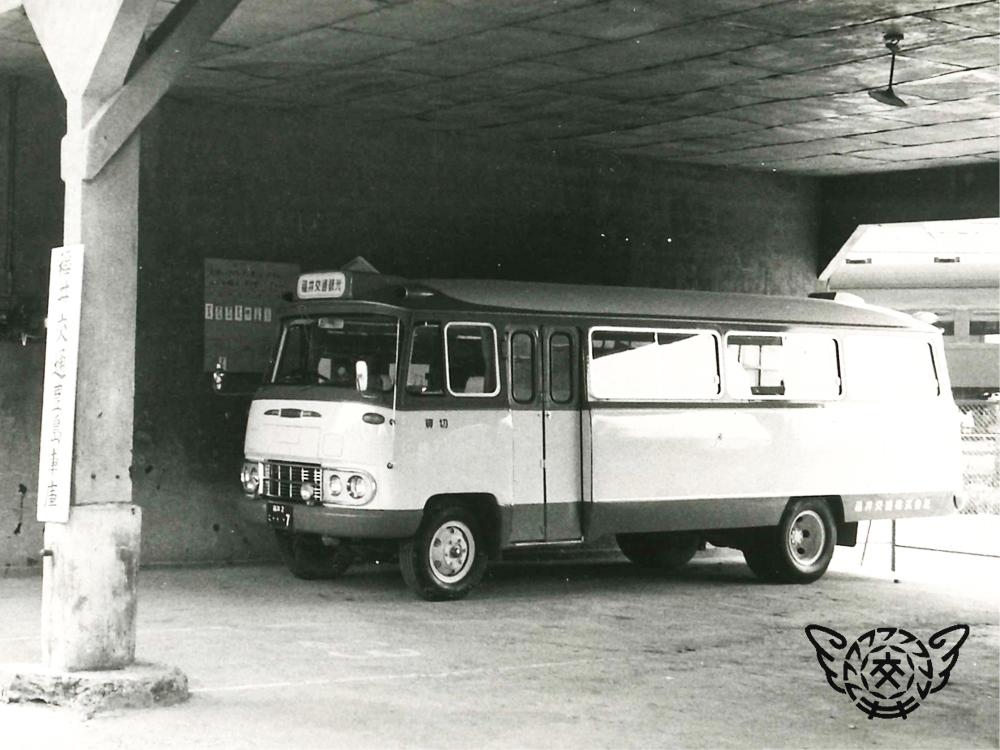 昭和38年のバス